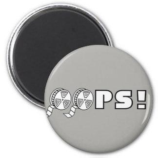 La meilleure image - OH LÀ LÀ ! ! Magnet Rond 8 Cm
