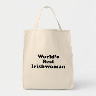 La meilleure Irlandaise du monde Tote Bag