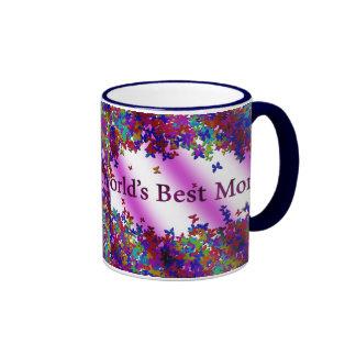 La meilleure maman #1 du monde mug ringer