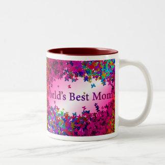 La meilleure maman #2 du monde mug bicolore
