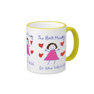 La meilleure maman au monde mug ringer