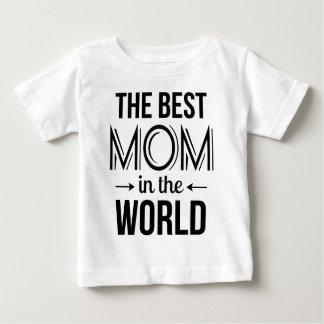 La meilleure maman dans le T-shirt du monde