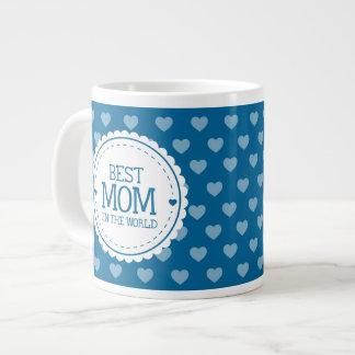 La meilleure maman dans les coeurs et le cercle mug