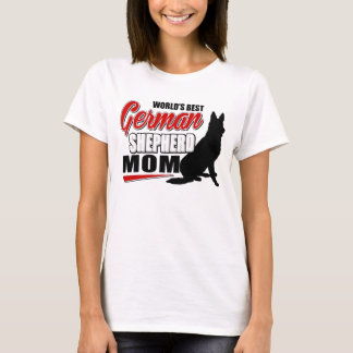La meilleure maman du berger allemand du monde t-shirt