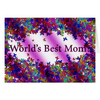 La meilleure maman du monde ! #1 carte de vœux
