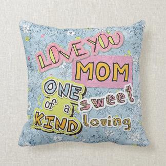 La meilleure maman du monde je t'aime coussin