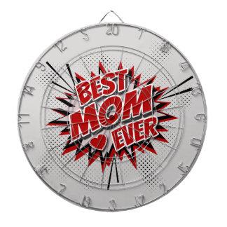La meilleure maman jamais cible de fléchettes