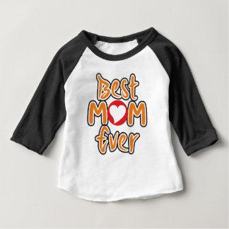 La meilleure maman jamais t-shirt pour bébé