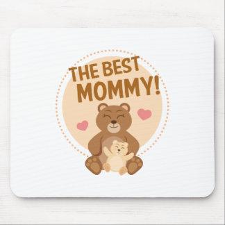 La meilleure maman tapis de souris