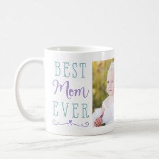 La meilleure photo faite sur commande turquoise mug