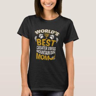 La meilleure plus grande maman suisse Graphi de T-shirt