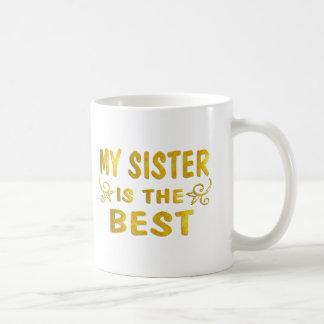 La meilleure soeur mug blanc