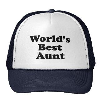 La meilleure tante du monde casquettes
