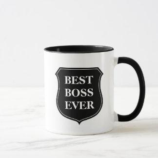 La meilleure tasse de café de patron jamais avec