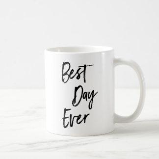 La meilleure tasse de café toujours de motivation
