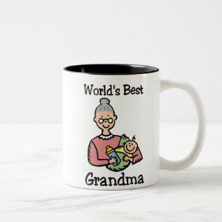 La meilleure tasse de la grand-maman du monde