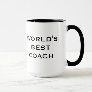 La meilleure tasse de l'entraîneur du monde