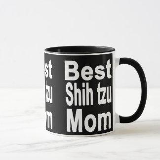 La meilleure tasse de maman de tzu de Shih, chien