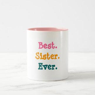 La meilleure tasse de soeur jamais