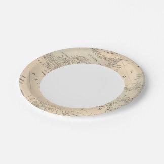 La mer baltique assiettes en papier