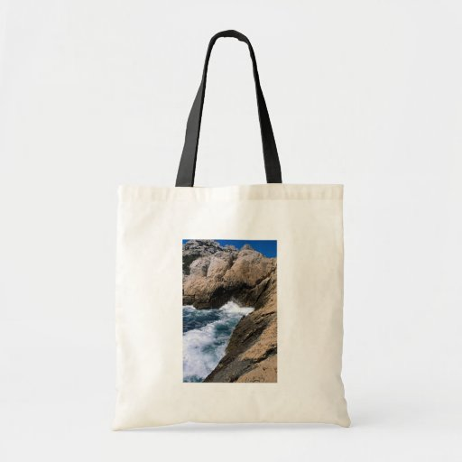 "La mer et les roches, les ""Calanques"", Marseille,  Sacs"