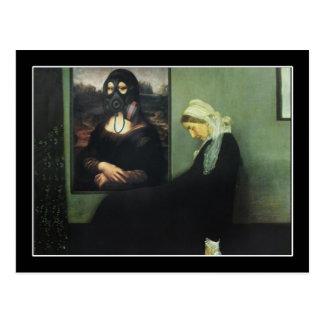 La mère de Whistler est devenue ivre - par Mona Carte Postale