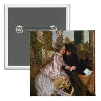 La mesure pour l'anneau de mariage, 1855 badge