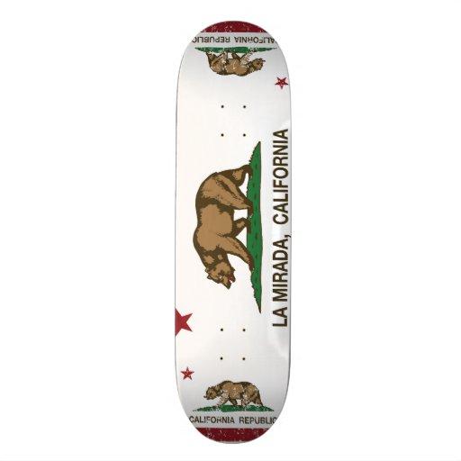 La Mirada de drapeau d'état de la Californie Skateboards Personnalisés