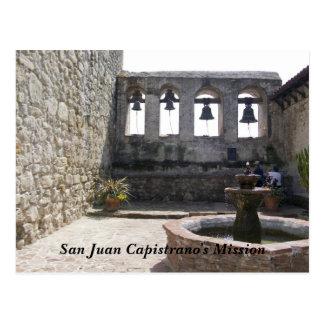 La mission de San Juan Capistrano Carte Postale