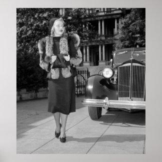 la mode des femmes des années 1930 posters