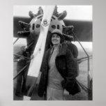 La mode rencontre l'aviation, les années 1920 posters