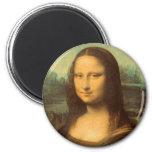 La Mona Lisa par Leonardo da Vinci Magnets Pour Réfrigérateur