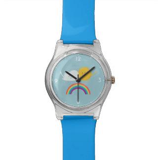 La montre-bracelet des enfants mignons de bande montres cadran