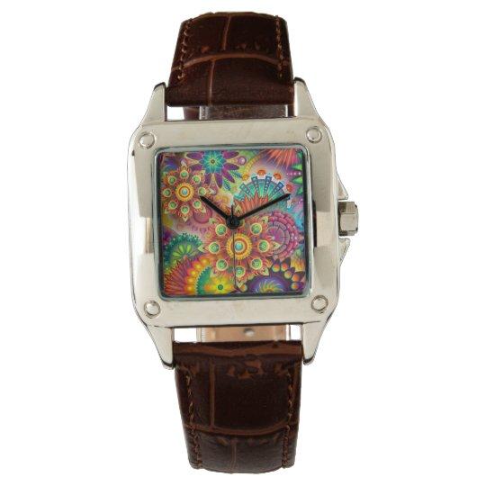 La montre-bracelet des femmes faites sur commande montre