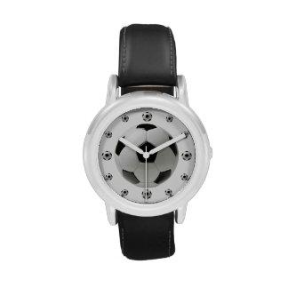 La montre de l'enfant d'acier inoxydable de ballon montres cadran