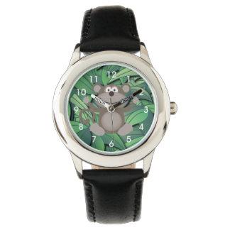 La montre de l'enfant de temps de singe montres bracelet
