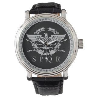 La montre d'emblème d'empire romain