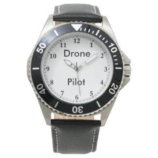 La montre du pilote de bourdon