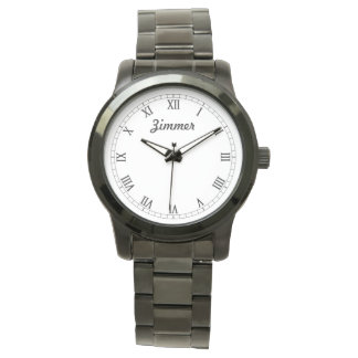 La montre personnalisée chique des hommes