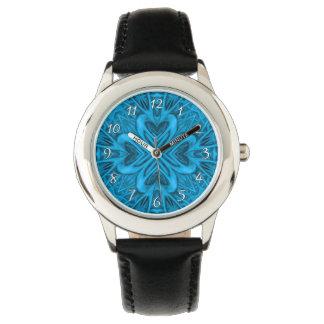 La montre vintage d'enfants de kaléidoscope de