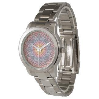 La montre vintage des hommes de kaléidoscope