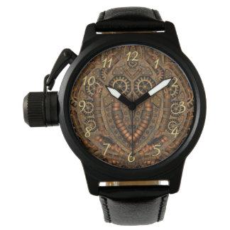La montre vintage des hommes faits sur commande de