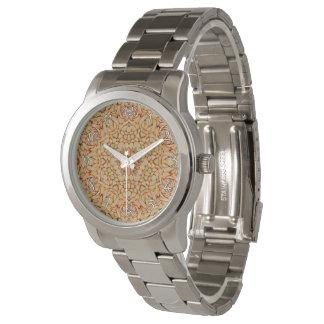 La montre vintage vintage   des hommes de motif de