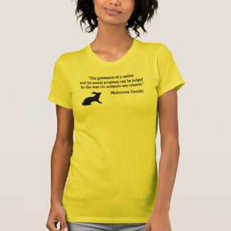 La morale évalue le T-shirt