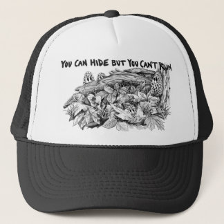 La morelle répand casquette de camionneur de B&W