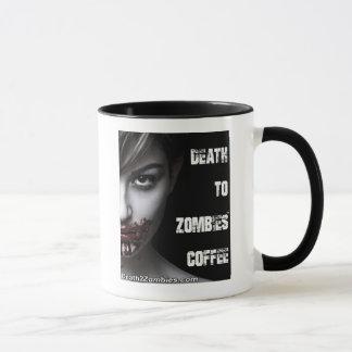 La mort au café de zombis mug