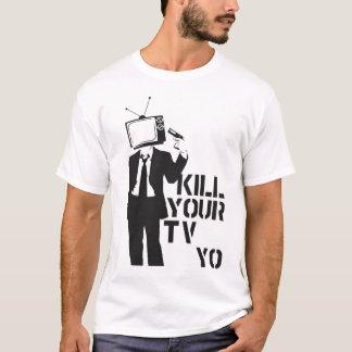 La mort aux médias t-shirt