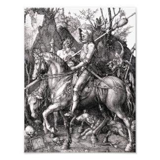 La mort de chevalier de Durer et le diable Photos
