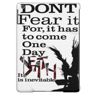La mort est inévitable - cas coque iPad air