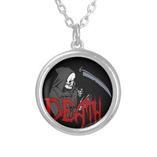 La mort - Halloween Collier